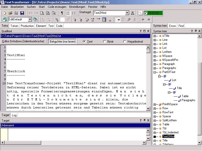 TextTransformer Screenshot